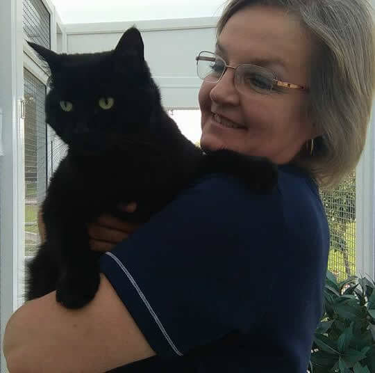 Sue Lewis from Clearwood Cattery
