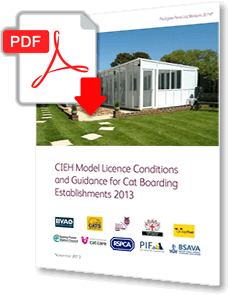 Download The CIEH Model Licence Conditions and Guidance for Cat Boarding Establishments PDF