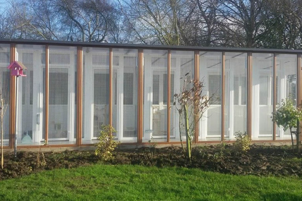 uPVC Cattery North Yorkshire